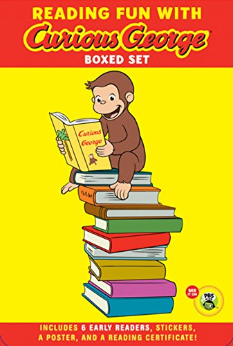 Reading Fun with Curious George Boxed Set (Green Light Readers Level 1)
