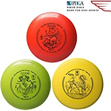 Yikun Discs Professional Disc Golf Set 3 in 1 Includes Driver,Mid-Range and Putter 165-176g Perfect Outdoor Games for Kids and Adults