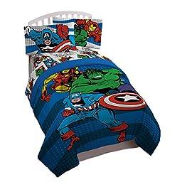 Marvel Comics \'Good Guys\' Reversible Comforter, Twin/Full