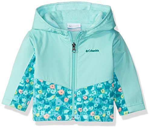 1f44dc62d Columbia Baby Girls' Infant Steens Mt Overlay Hoodie, Pixie Floral Print,  ...