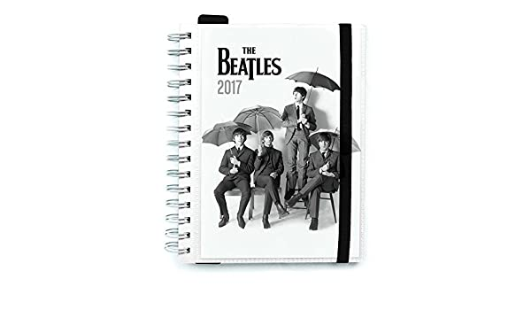 Amazon.com : Grupo Erik Editores The Beatles - 2017 Agenda ...
