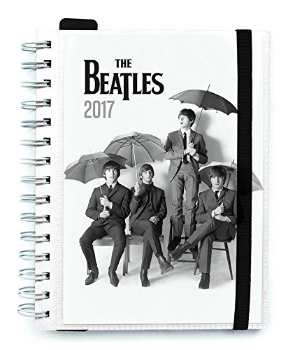 Grupo Erik Editores The Beatles - Agenda 2017 Semana Vista, 15.5 x 19 cm