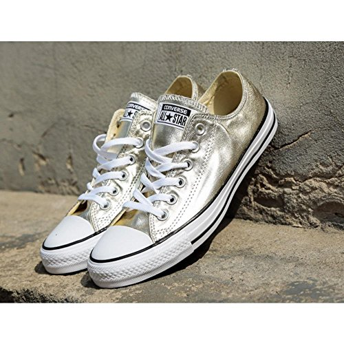Zapatillas 752 Chuck Star Taylor Adulto Gold Light Black All Ox Unisex Converse Multicolor White pwXOO