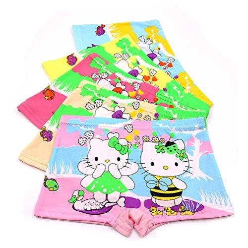 2-8 Year Girls Hellokitty Boyshort Toddler Vivid Color Underwear Covered Shorts