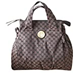 Gucci Brown Canvas Handbag Hysteria Top Handle Bag 286305 8370 Reviews (Free Shipping Available)