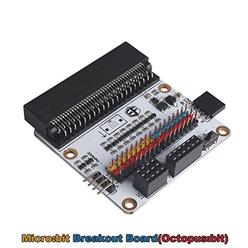 Flight-sky Micro:bit Breakout Board (Octopus:bit) Solve Power Supply Matters Compatible with BBC Micro:bit Pins by Flight-sky (Image #9)
