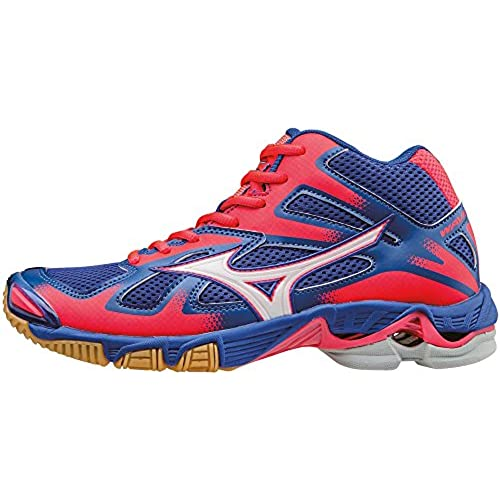 outlet Mizuno Wave Bolt Mid Wos, Chaussures de Volleyball