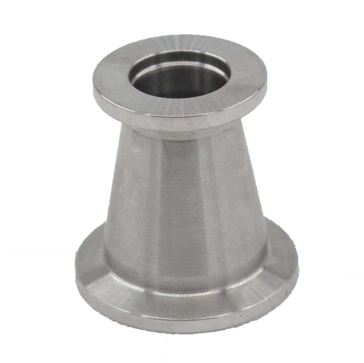 KF25 (NW25) to KF16 (NW16) Flange vacuum conical reducer Stainless steel 304 Compatible with Vacuum Fittings by MOTOKU