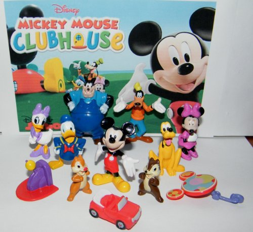 Best Mickey Mouse Toys : Mickey mouse clubhouse deluxe mini figure and toy set of