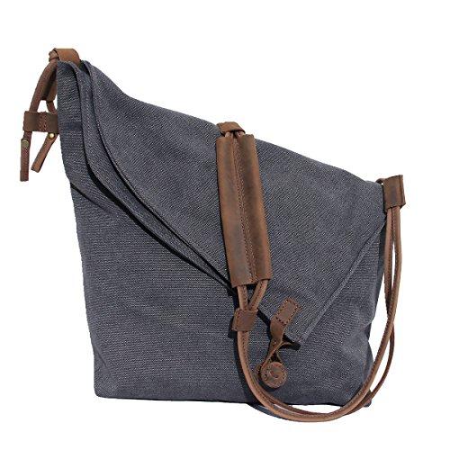 CLELO Travel Purse Canvas Crossbody Hobo Bag for Women