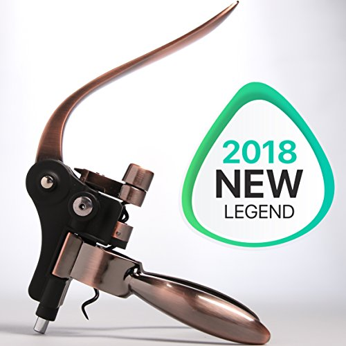 The New Cork Legend - Easy to Be a Professional Sommelier - Rabbit Wine Bottle Opener Set - Best Lever Corkscrew Gift Accessories Kit