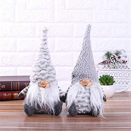 per Newly Multi Types Mini Dolls Soft Plush Toys Swedish Tomte Christmas Gnome Window Decoration Cute Unique Cute Dolls Ornament Innovative Gifts for Birthday Christmas by Per Newly