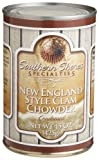 Southern Shores Specialties New England Style Clam Chowder, 15-Ounce Tins (Pack of 4)