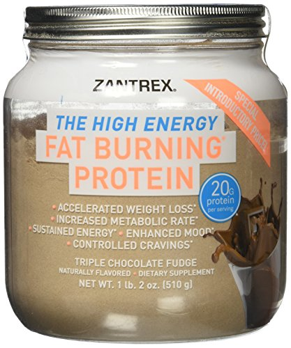Zantrex High Energy Fat Burning Protein, Chocolate, 1lb. 2oz.