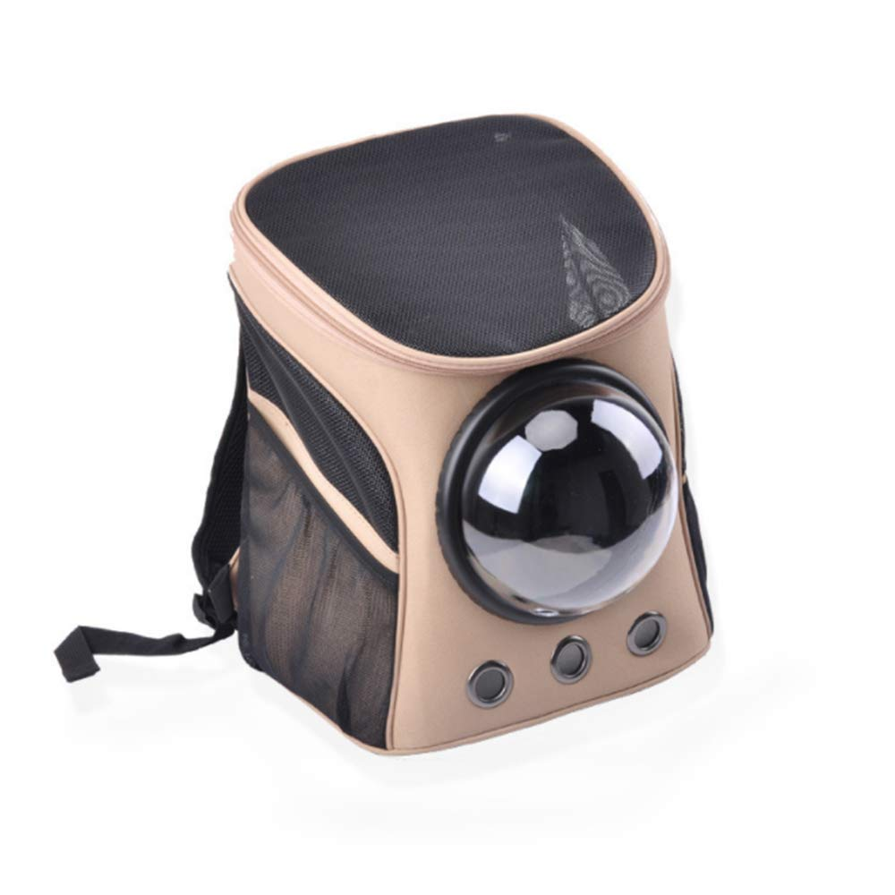 A Large A Large L&XY Pet Carrier Backpack Small Cat Dog Rabbit, Soft-Sided Comfortable Oxford Cloth Breathable Capsule Portable Designed Travel, Hiking Outdoor Use