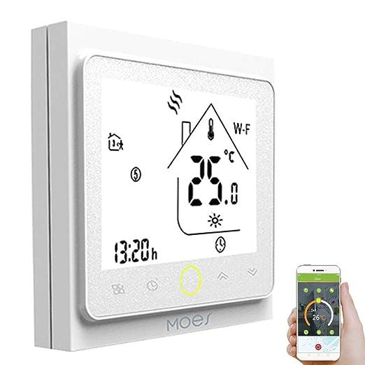 Decdeal - Termostato Inteligente WiFi - Termostato programable ...