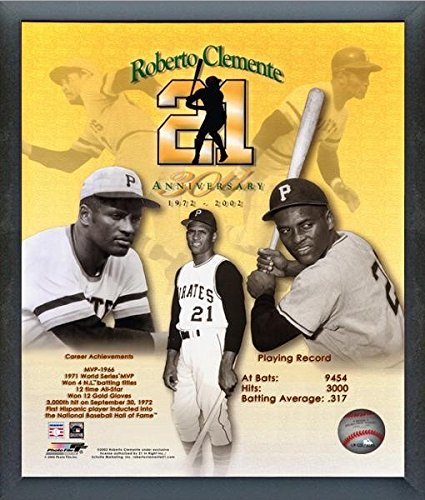 Roberto Clemente Pittsburgh Pirates MLB Photo (Size: 12