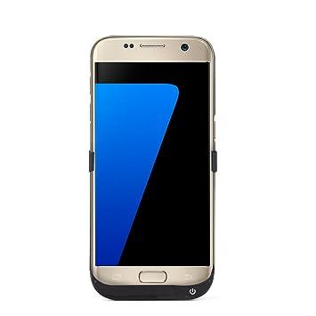 Samsung S7 recargable caso, Lenuo 6500 mAh portátil Batería externa recargable cargador de batería Carcasa para Samsung Galaxy S7: Amazon.es: Electrónica