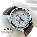 Relojes de Hombre Fashion Watches Luxury Brand Quartz Leather Strap De Hombre Para Hombre RE0011