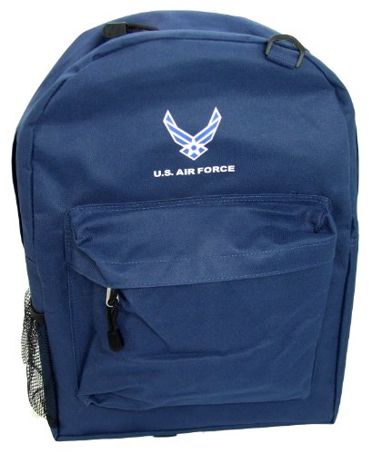 Military School Backpack (17inch, AirForce Navy) by WTD