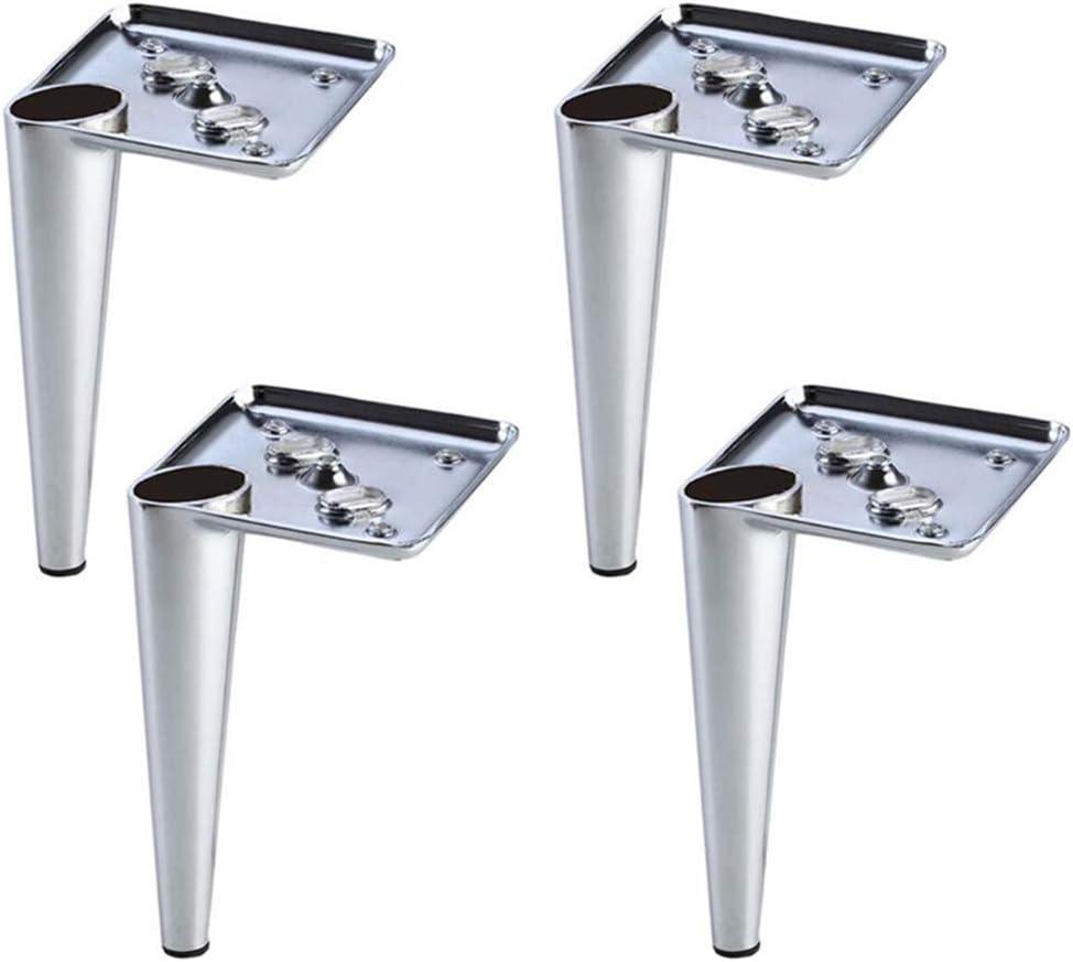 FCXBQ Patas de los Muebles * 4 Patas de Soporte para la Mesa de Centro del sofá Accesorios de Hardware Patas del gabinete basculante de Hierro Pata de la Cama Desgaste antioxidante ^ ^