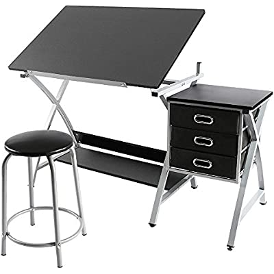 yaheetech-adjustable-drafting-table