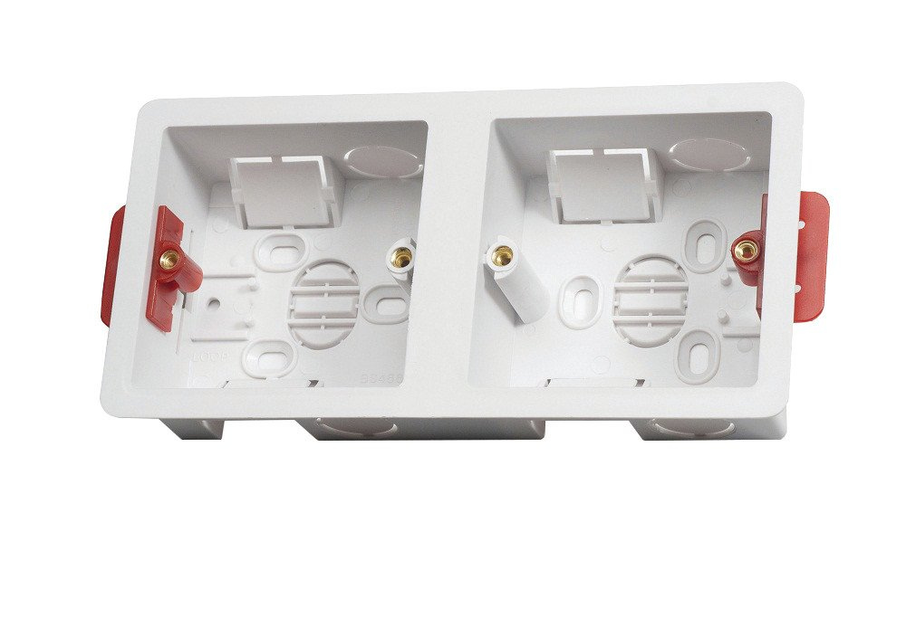 Contactum DLBD35-1PACK 35mm Dual Dry Lining Box