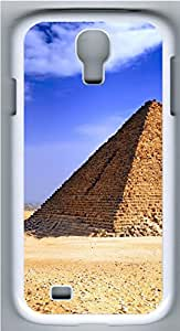 Samsung Galaxy S4 I9500 Cases & Covers - Egyptian Pryamid Custom PC Soft Case Cover Protector for Samsung Galaxy S4 I9500 - White