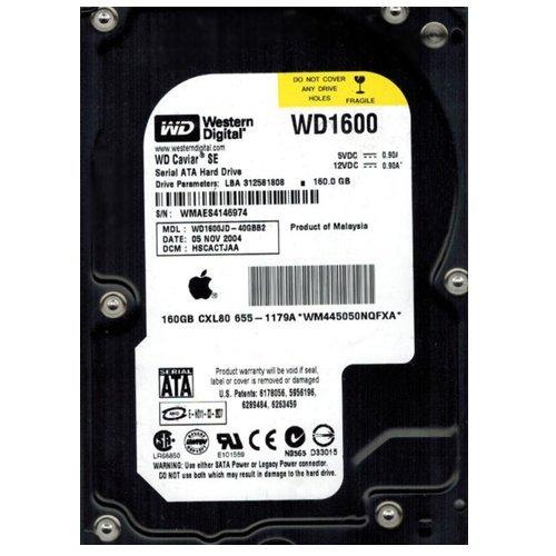 (WD1600JD-40GBB2 Western Digital 160GB 7200RPM SATA 1.5 Gbps 3.5 inch Caviar Hard Drive)