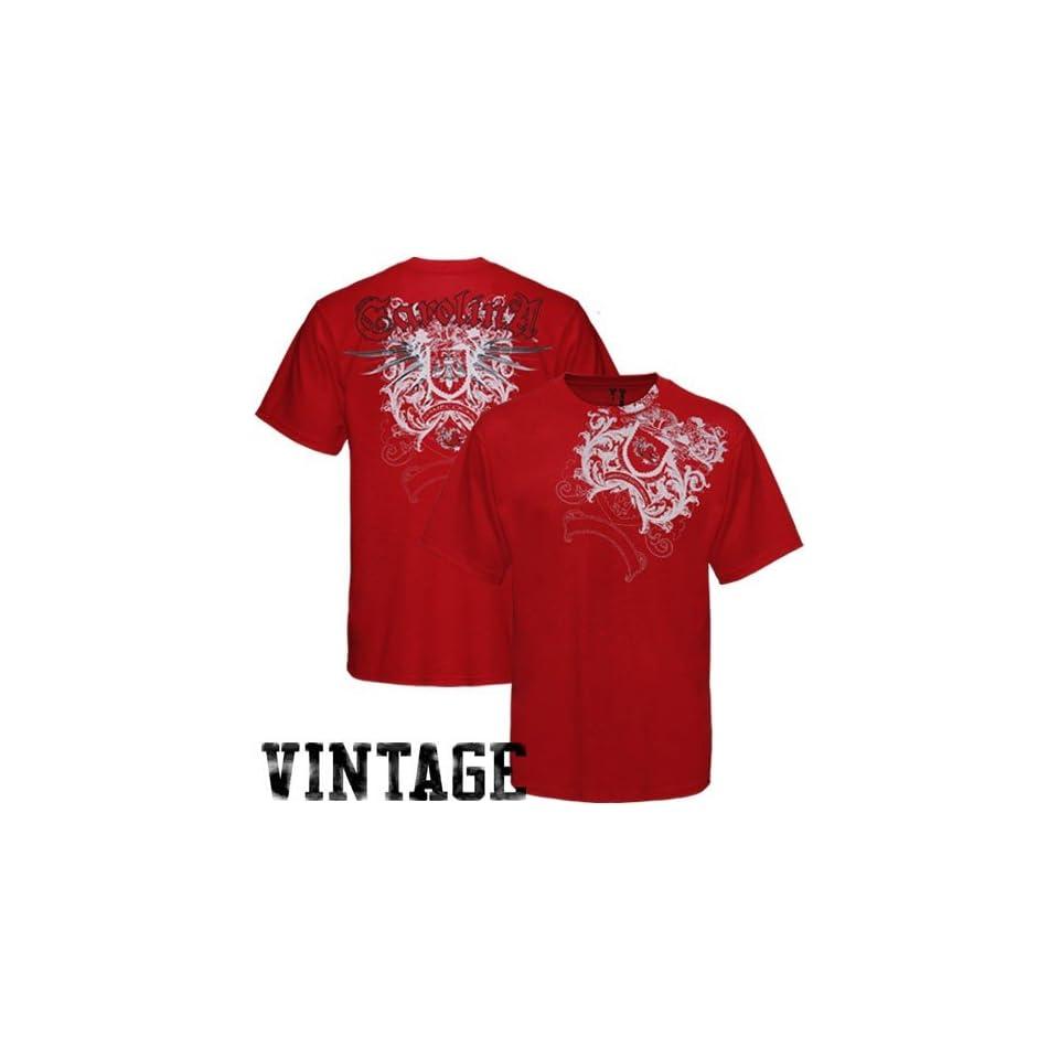 NCAA My U South Carolina Gamecocks Garnet Razor Wing T shirt