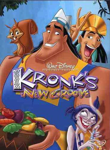 Kronk's New Groove (Dvd Emperors Groove New)