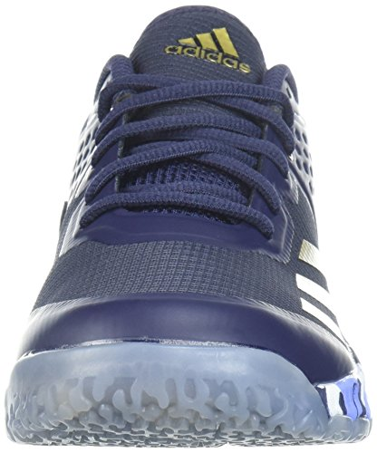 adidas Performance Damen Crazyflight Bounce W Volleyballschuh Edeltinte / Metallic Gold / Kreide Lila