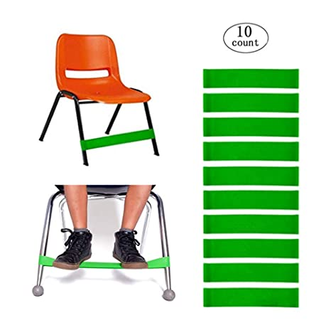 Fantastic Kick Rubber Chair Bands For Kidsstretch Chairs Foot Bandbounce Fidget Band For Elementary School Classroom Chairsadhd Add Spd Autism Sensory Short Links Chair Design For Home Short Linksinfo