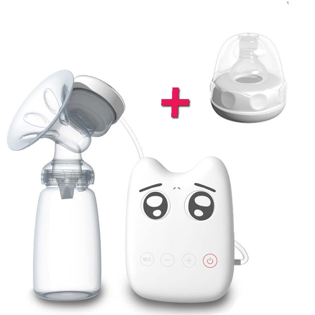 BWINKA Portable USB Automatic Electric Single Comfort Breast Pump 150ML With BWINKA Breast Suction Milk Collection+ Baby Bottle Nipples