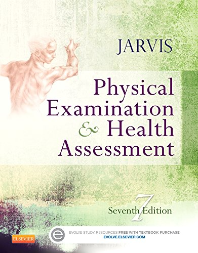 1455728101 - Physical Examination and Health Assessment, 7e