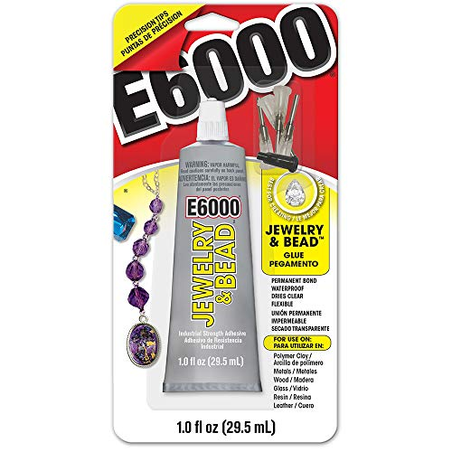 E6000 242001 Jewelry and Bead Adhesive - 1 fl oz