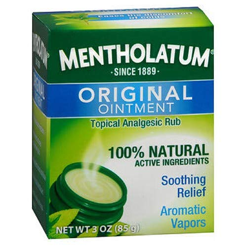 Mentholatum Ointment 3 oz (Pack of 6) by Mentholatum