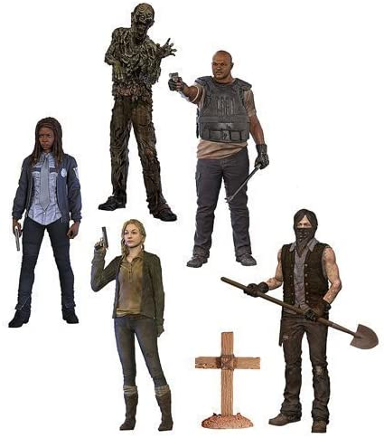 The Walking Dead TV Series 9 Beth Greene, Grave Digger Daryl Dixon, T-Dog, Water Walker and Constable Michonne Action Figures Set of 5 by Walking Dead: Amazon.es: Juguetes y juegos