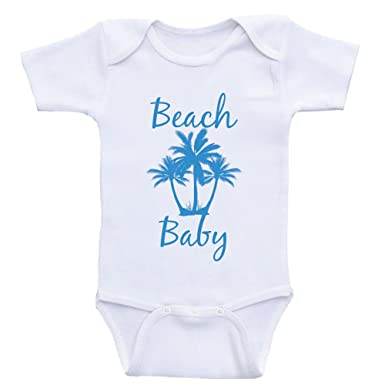 bb86d8ea92 Amazon.com: Nautical Baby Onesies Beach Baby Beach Shirt Bodysuits for  Babies: Clothing