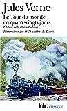 """""""Le Tour du monde en 80 jours (édition enrichie illustrée) (Folio Classique) (French Edition)"""" av Jules Verne"""