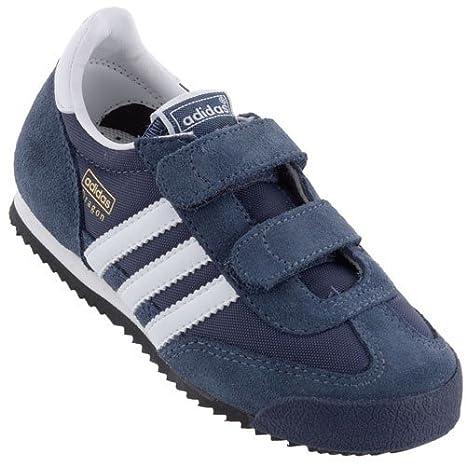 Adidas Dragon Zapatillas Jr, Navy - White: Amazon.es: Deportes y aire libre