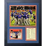 """Legends Never Die 2016 MLB Chicago Cubs World Series Champions Celebration Framed Photo Collage, 11"""" x 14"""""""