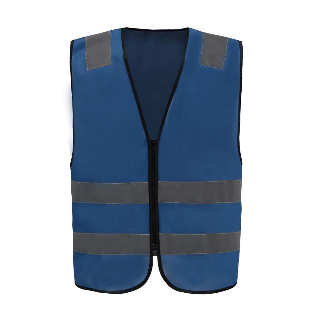 4c Adult High Visibility Hi Viz Vest Waistcoat Workmans Safety hi vis vest XL, YELLOW