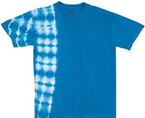dc441477438be2 Amazon.com  Tie Dyed Shop Blue Tie Dye X-Ray T Shirt  Small to 3X ...