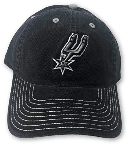 Reebok San Antonio Spurs Casual Adjustable Hat Black (Antonio Spurs Reebok San)
