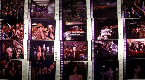 WARRIORS - 1979 - Lot of 12 35mm Movie Cinema Film Cells Collectible Memorabilia Complements Poster Book Theater