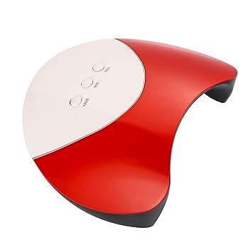 HFJLLSJHDFB uñas de gel lampara led uñas Sensor infrarrojo 36W Lámpara de Uñas Gel Secador de