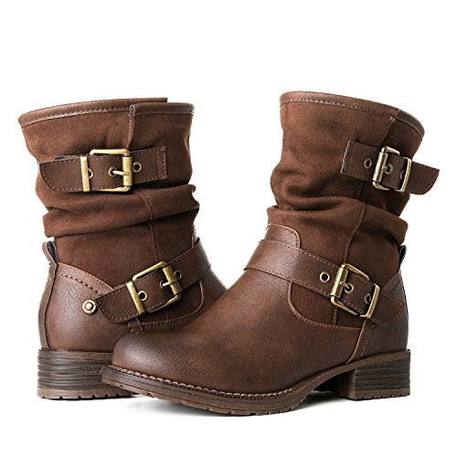 Warm Brown Boot - 9