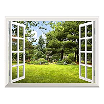 Removable Wall Sticker Wall Mural ( Garden View)...
