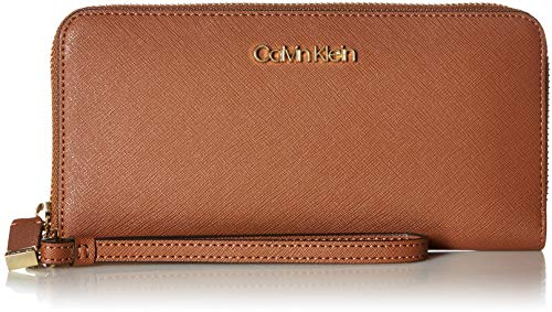 Calvin Klein Key Item Saffiano Large Continental Zip Around Wallet, Luggage